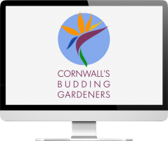 Cornwall's Budding Gardeners logo