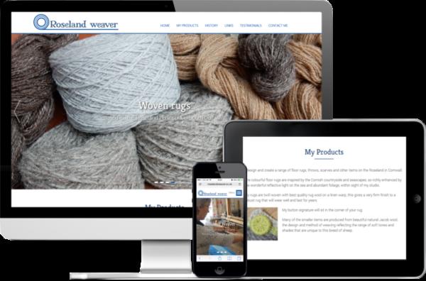 Cheap websites Cornwall - Roseland Weaver