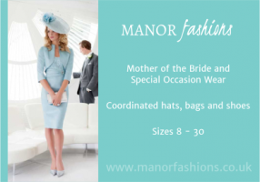 Manor Fashions Business card