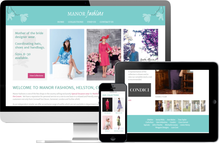 Manor Fashions Website
