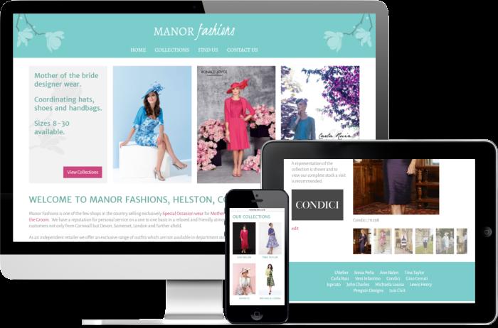 Manor Fashions Website