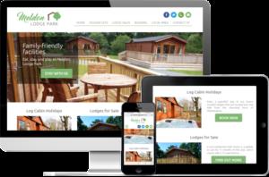 Meldon Lodge Park website