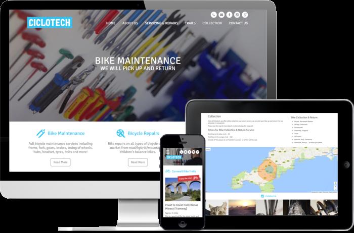 Ciclotech website