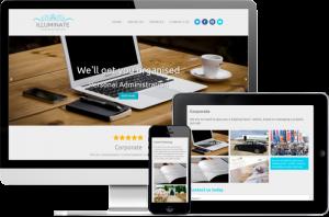 Illuminate Conceirge Services website