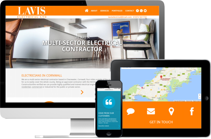 Lavis Electrican website