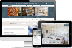 Avalon Hotel website
