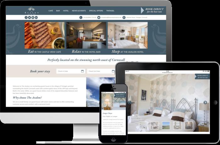 Avalon Hotel website