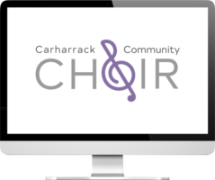 Carharrack Community Choir logo