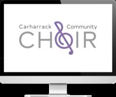Carharrack Community Choir logo