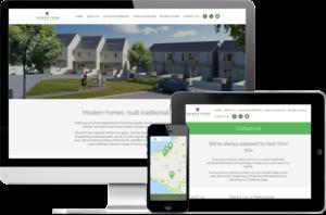 Robertson Developments website