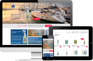 Wessex Boat Store website
