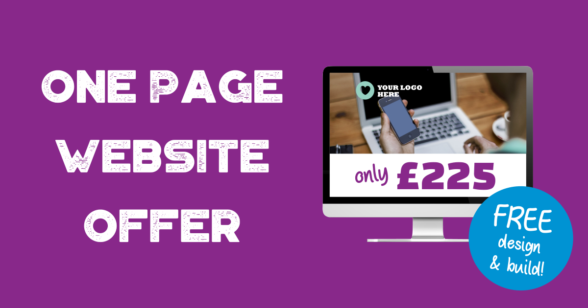 One page website offer