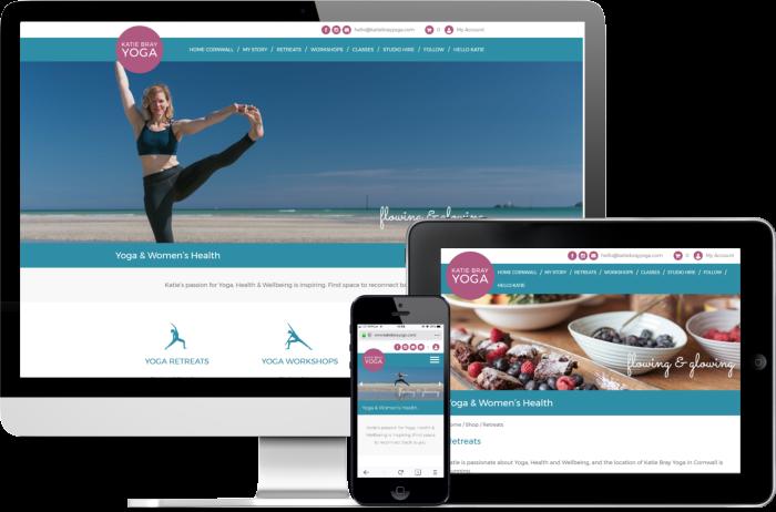 Katie Bray Yoga website