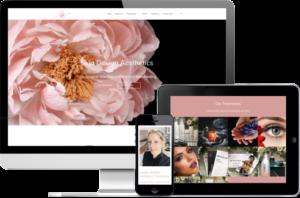 Skin Design Website