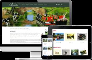 Waterways Artist website