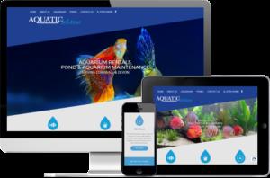 Aquatic Solutions website