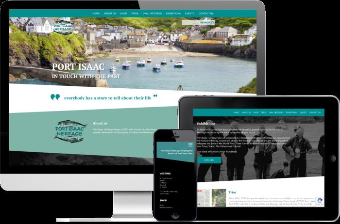 Port Isaac Heritage website