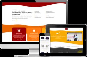Cornwall Screenprint website