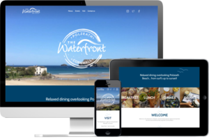 Waterfront Polzeath website